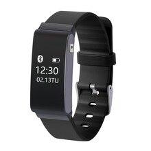 Смарт-браслеты A22 Температура мониторинга Сенсор Bluetooth Браслет фитнес-трекер Расстояние трекер OLED сенсорный экран на