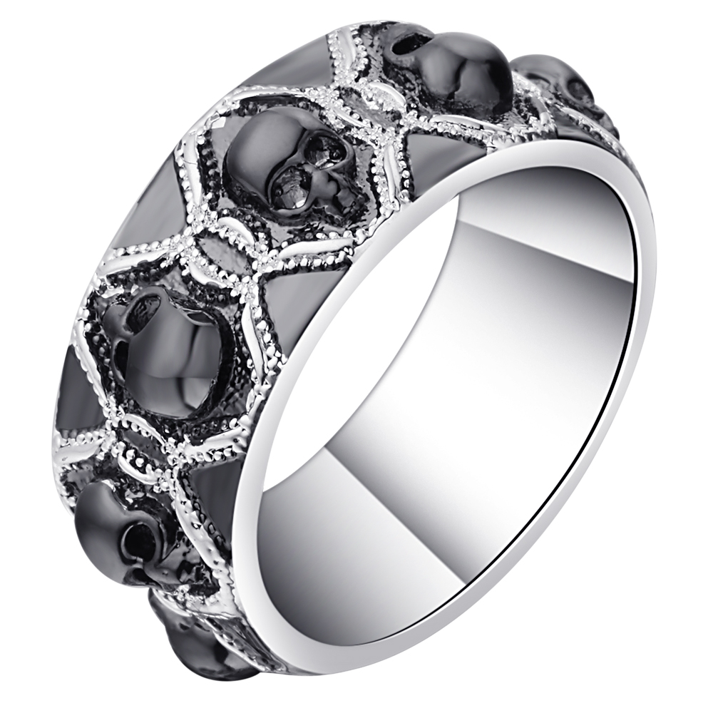 compare prices on skull wedding ring- online shopping/buy low