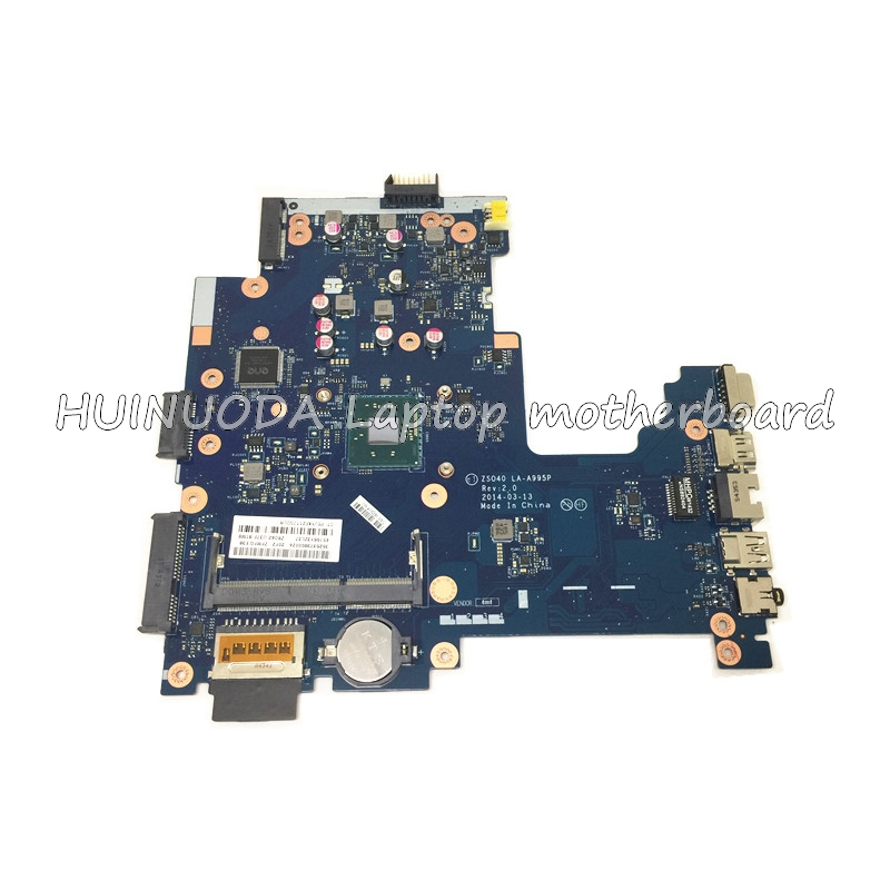 NOKOTION MAIN BOARD For HP 240 G3 Laptop Motherboard ZS040 LA-A995P N3530 CPU DDR3 full test 815248 501 main board for hp 15 ac 15 ac505tu sr29h laptop motherboard abq52 la c811p uma celeron n3050 cpu 1 6 ghz ddr3