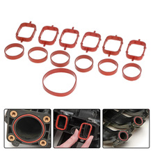 Car-Styling 4/6 PCS Intake Manifold Gaskets Inlet Repair Kits for BMW 320d 330d 520d 525d 530d 730d