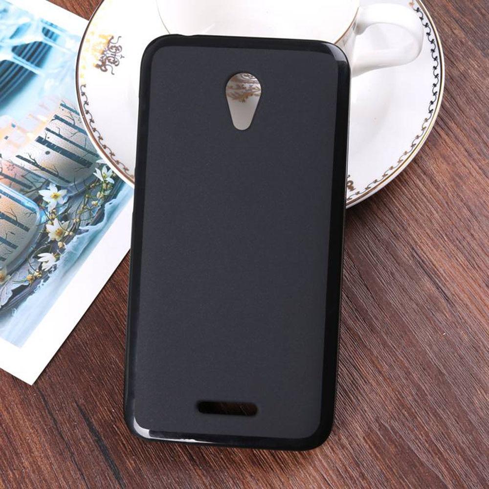 Для Alcatel U50 ультра тонкий мягкий гель силиконовый чехол Slim Fit противоударный ударопрочный Назад Внешний телефон чехол для Alcatel u50 @