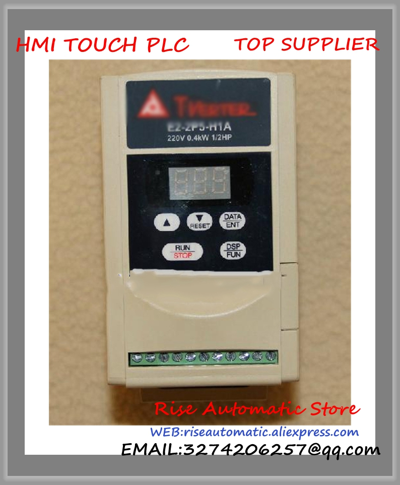 E2-2P5-H1A new 1 phase 220V 2.3A 0.4KW 0.5HP Inverter VFD frequency AC drive