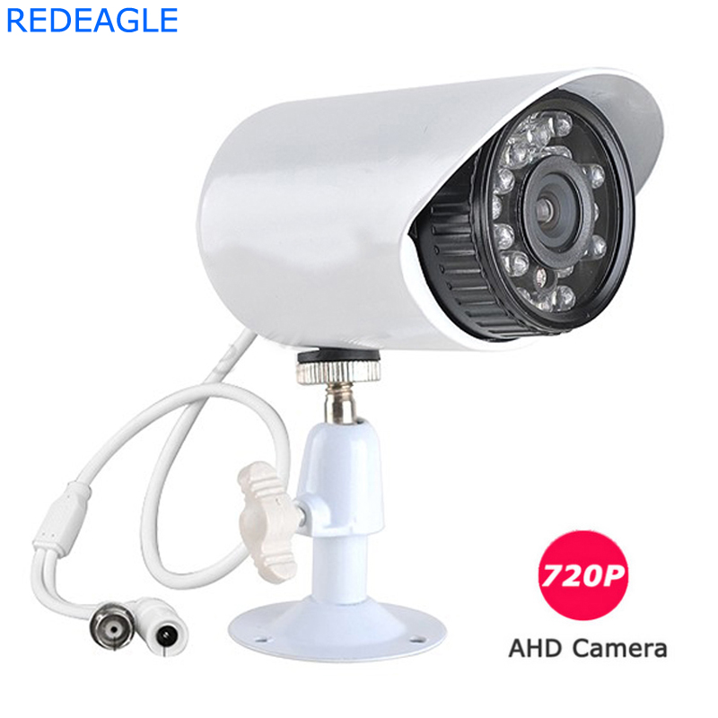CCTV 1MP HD 720P AHD Camera Security Metal Shell Video Surveillance Outdoor Waterproof 24 infrared LED Free Shipping free shipping k5 metal shell