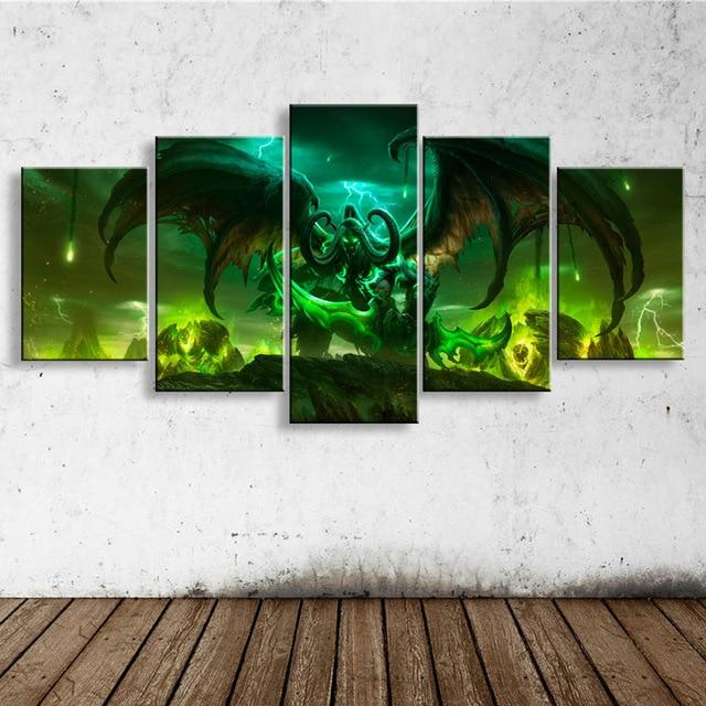 Movie World of warcraft foto 5D Diy Diamant Malerei mosaik Bohrer Harz Voll Stickerei Stickpackungen Home Decor green dragon