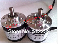 2pcs Incremental Optical Rotary Encoder 400 Pulse NEW