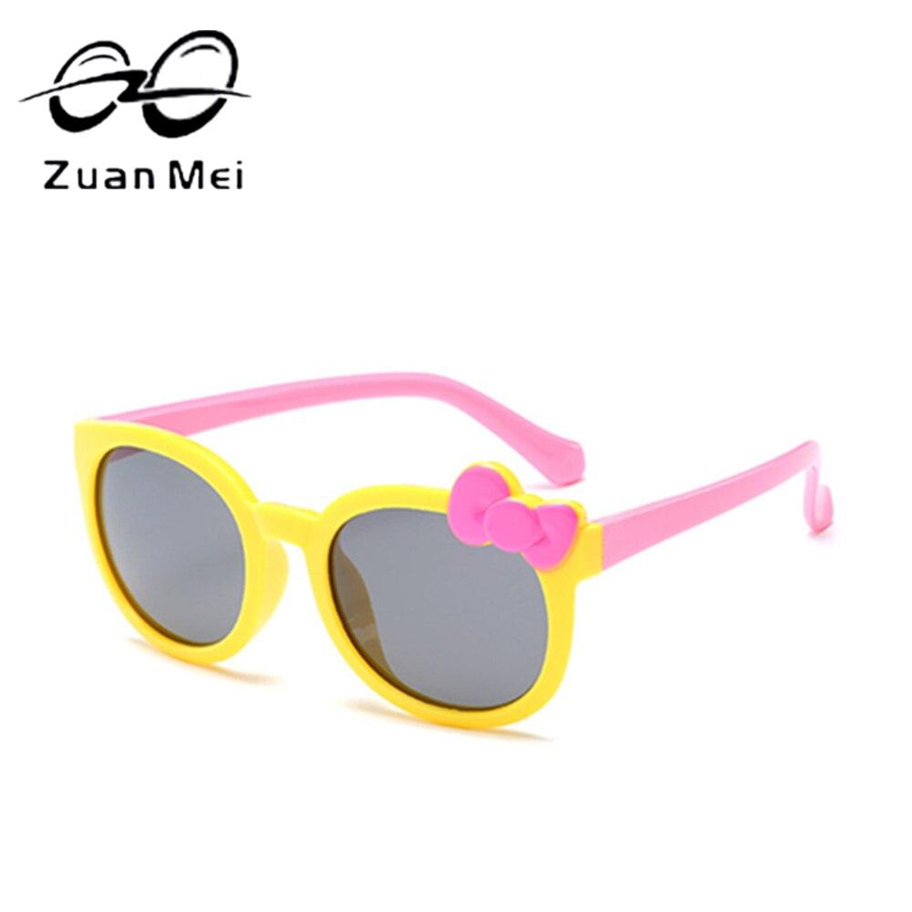 Zuan Mei Brand Polarized Children Sunglasses Safety Baby Boys Girls Design Sun Glasses For Kids UV400 Protection Glasses ZMC12