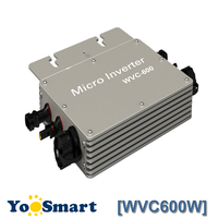 Proofwater 600W 110V Micro Inverter Solar Grid System 22 50VDC RS232 Communication MPPT Maximum Power Point Tracking Function
