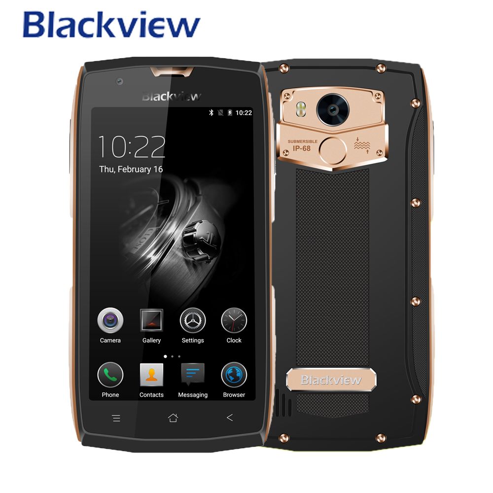 Blackview BV7000 Smartphone IP68 Waterproof MTK6737T Quad Core 1 5GHz 2G RAM 16G ROM Android 7
