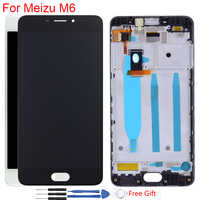 """Original Display 5.2"""" Meizu M6 M711H LCD Display With Frame Touch Screen Digitizer Assembly Replacement 1280*720 IPS LCD"""