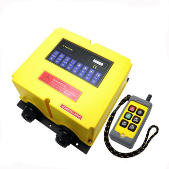 F4HH Motor-driven Gourd Double Electric Machinery Directly Control Industry Wireless Remote Control Avoid Control Box