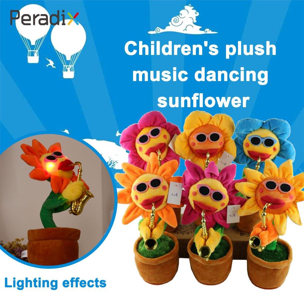 Dancing Sunflower Funny Amusement Decor Plush