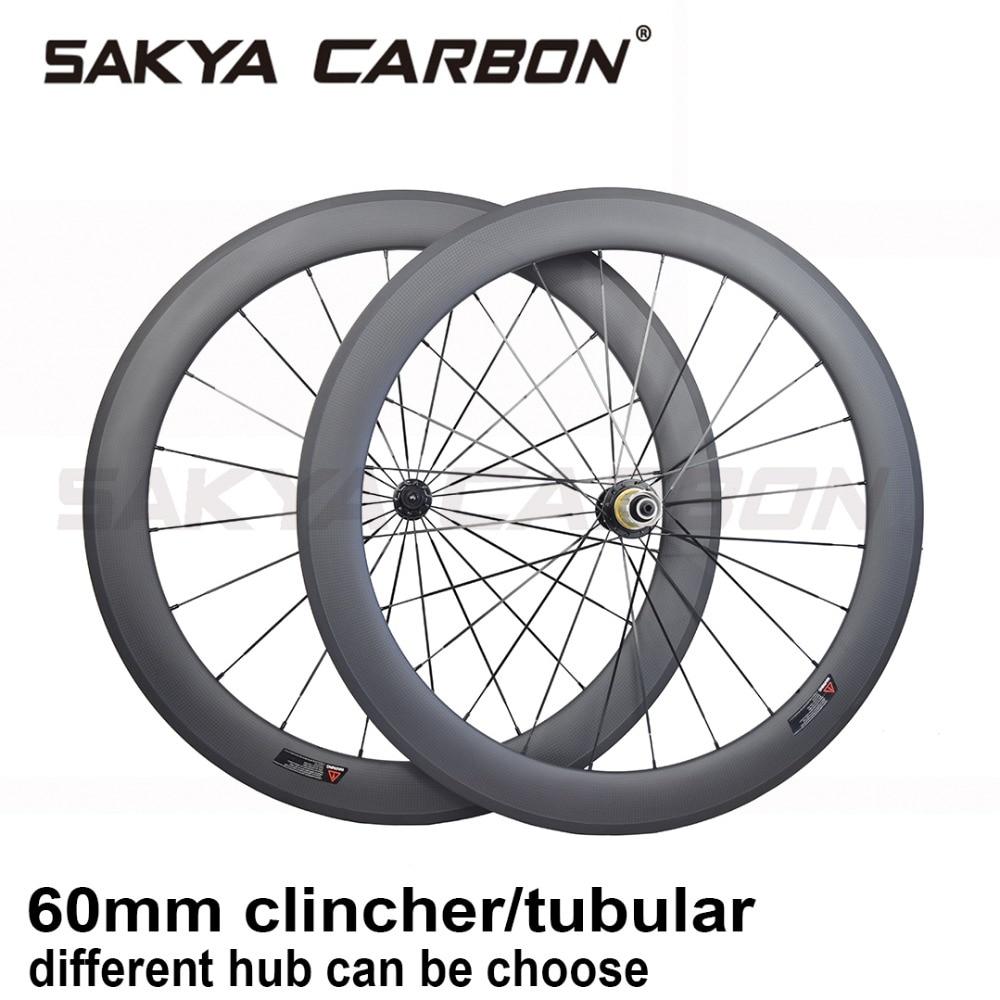 FASTEAM 50mm Road Bike Clincher Wheelset Carbon Shimano 10//11 Speeds Cassette Compatibility 20//24 Holes Black