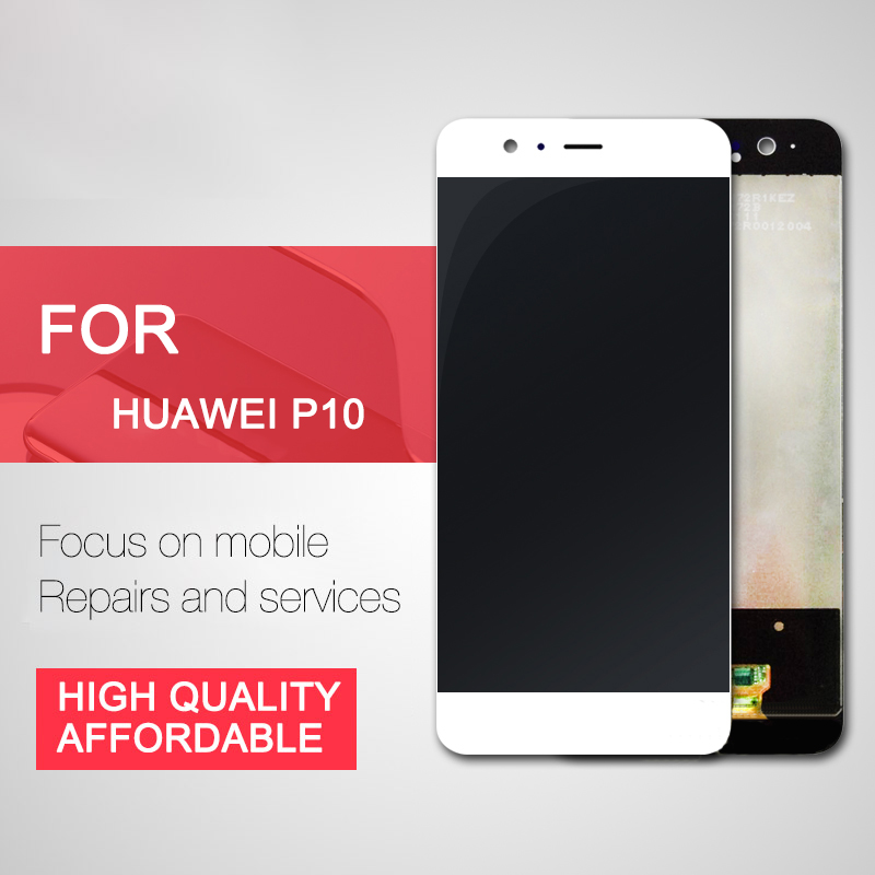 Тренд Точка сенсорный экран телефона в сборе для Huawei P10 Мобильные аксессуары панель сенсорного экрана сборки