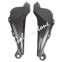 Carbon Fiber Tank Side Covers Panel Fairing for Honda CBR1000RR 2012 2013 2014 12 13 14 Motorcycle Side Lining