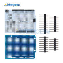 Prototype PCB Expansion Bread Board Development Shield Board Breadboard Module For Arduino UNO R3 One Diy Kit 2.54mm With Pins