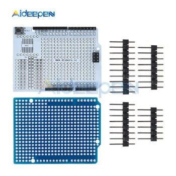 Prototypowa płytka drukowana ekspansja deska do chleba rozwój płytka shield Breadboard moduł dla arduino uno R3 jeden zestaw Diy 2.54mm z pinami