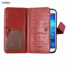 sFor Phone Case Samsung Galaxy S4 Cover Retro Flip Leather + TPU For Samsung Galaxy S4 Case For Samsung S4 SM-i9500 Wallet Bag