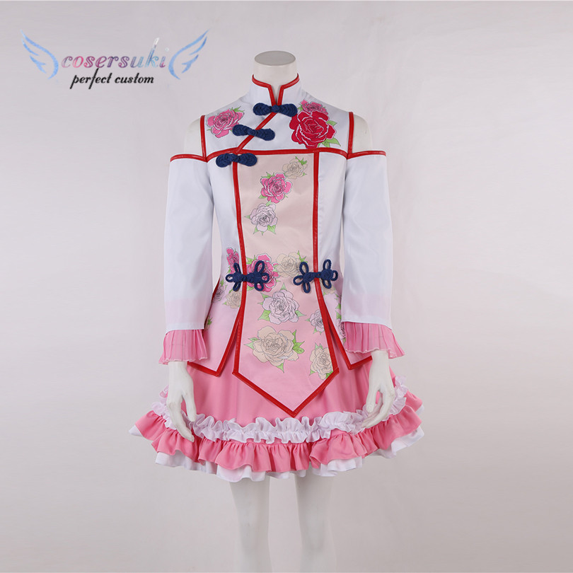 THE IDOLM@STER CINDERELLA GIRLS Mizushima Saki Cosplay Costume From Naruto Shippuuden Cosplay Costume ,Perfect Custom For you!