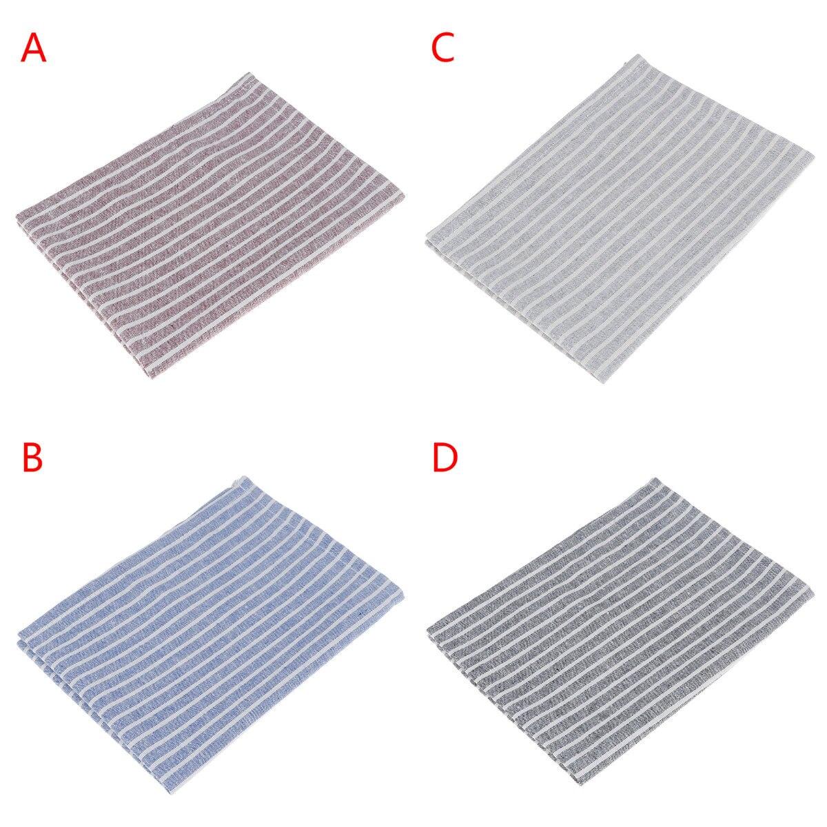 30x40 Cm Katoen Linnen Servetten Placemat Isolatie Mat Eettafel Mat Comfortabele Servet Stof Tafel Placemats Achtergrond