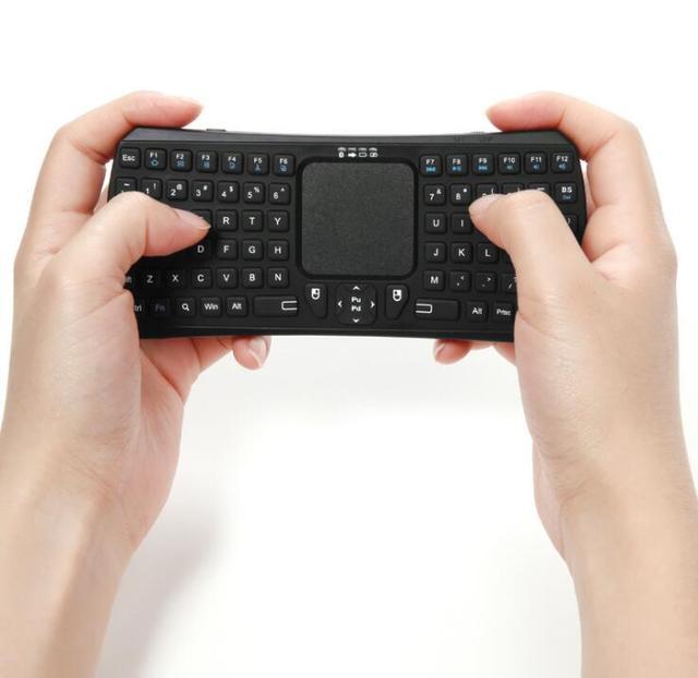 Mini Clavier Sans Fil Bluetooth 4.0 Clavier Avec Tactile pour Ipad ...