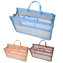 Fashion Women Makeup Bag Portable Transparent PVC Cosmetic Toiletry Pouch Travel Wash Toothbrush Pouch Organizer Bag