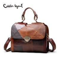 Cobbler Legend Women S Shoulder Messenger Bags Retro Genuine Leather Lady Female Handbag Women Vintage Style