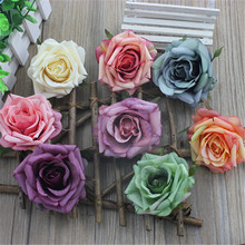 2pcs free shipping European-style curly roses rose flowers Sen Department of hand-made decorative flower accessories