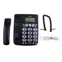 Фиксированный телефон домашний отель Быстрый циферблат усиленный фото телефон KX-2035CID большая кнопка проводной телефон