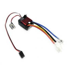 Image 3 - Электронный регулятор скорости HobbyWing quirun Brushed 1060 60A ESC 1060 с переключателем режима BEC для радиоуправляемого автомобиля 1:10
