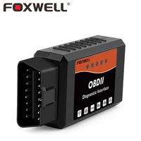 FOXWELL FW601 OBD2 WIFI ELM327 V1 5 For IPhone Android OBDII Code Reader Scanner Car OBD