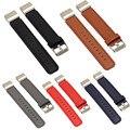 Simplestone Cinta Faixa de Relógio De Couro De Luxo + Adaptadores de Terminais Para Fitbit Carga 2 Dec6