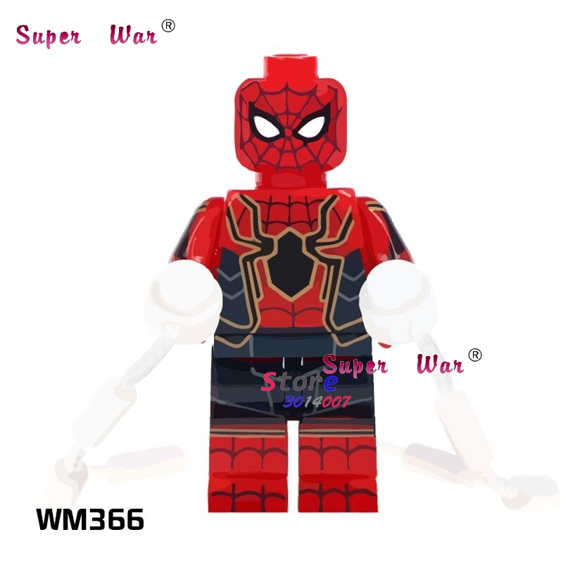 1pcs Model Building Blocks Action Figures Starwar Superheroes Gwen Spider-man Collection Series Hobby Diy Toys For Children Gift Attractive Fashion Model Building