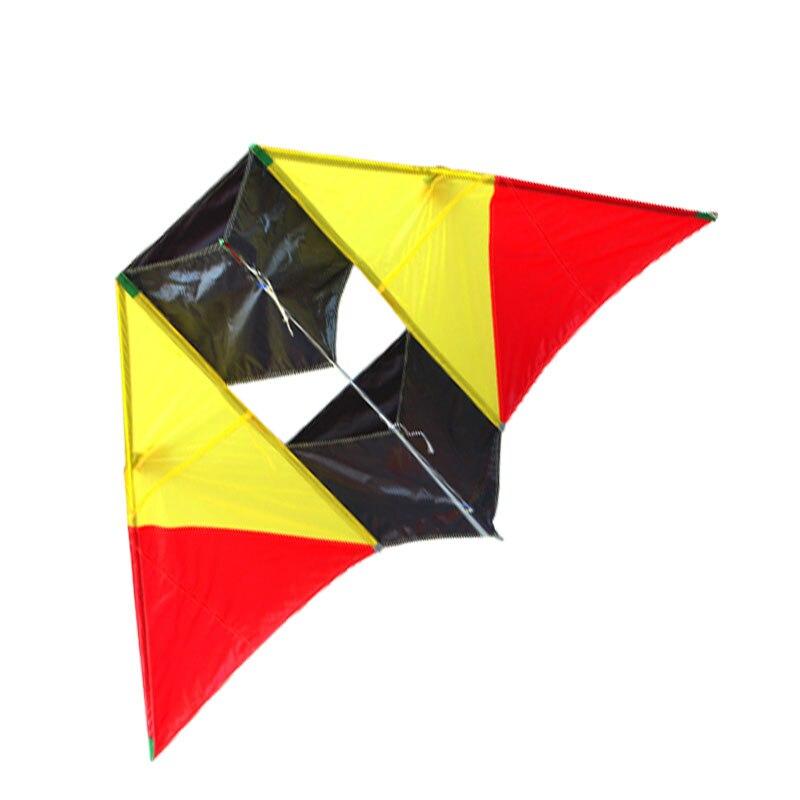 Nouvelle arrivée de haute qualité 87 pouces énormes cerfs-volants de haute qualité en Nylon doux 3D Delta spécial cerf-volant envoyer la ligne de poignée facile à voler