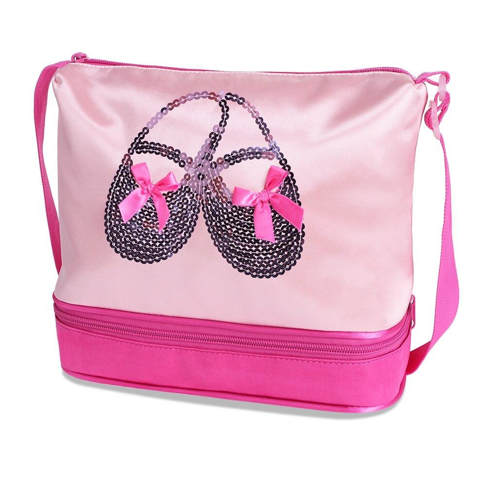 Nylon Outdoor Female Sport Bag Professional Women Fitness Shoulder Gym Bag Hot Training Female Ballet Duffel Bag