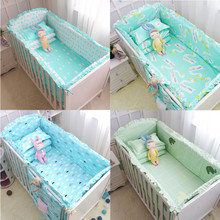 100%Cotton Baby Crib Bumpers Bedding