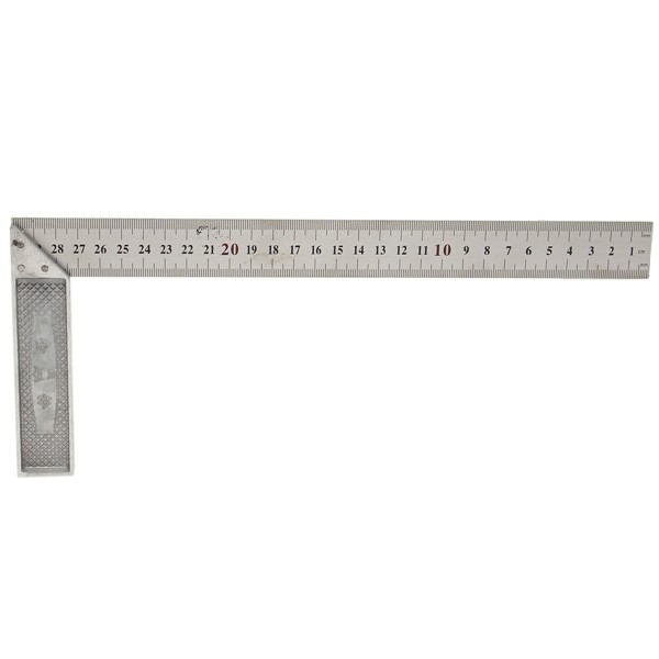 30cm 12inch Metal Engineers Try Square Set Measurement Tool Right ...