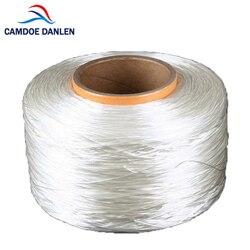 CAMDOE DANLEN مفلطح مرونة خط تمتد الديكور 4.5 كيلومتر طول 0.8 ملليمتر سلك/الحبل/سلسلة/الموضوع DIY صنع المجوهرات التبعي