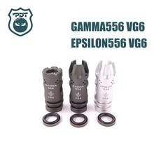 14 мм CCW нить гамма EPSILON 556 VG6 Flash Hider нет функции намордник устройство для страйкбола AEG Gen9 J9 водный гель шар бластер