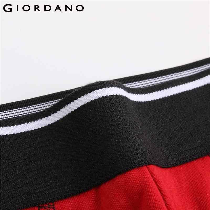Giordano roupa interior 3-pacote de algodão boxer marca dos homens cueca boxer cueca boxer masculino calzoncillos hombre marca