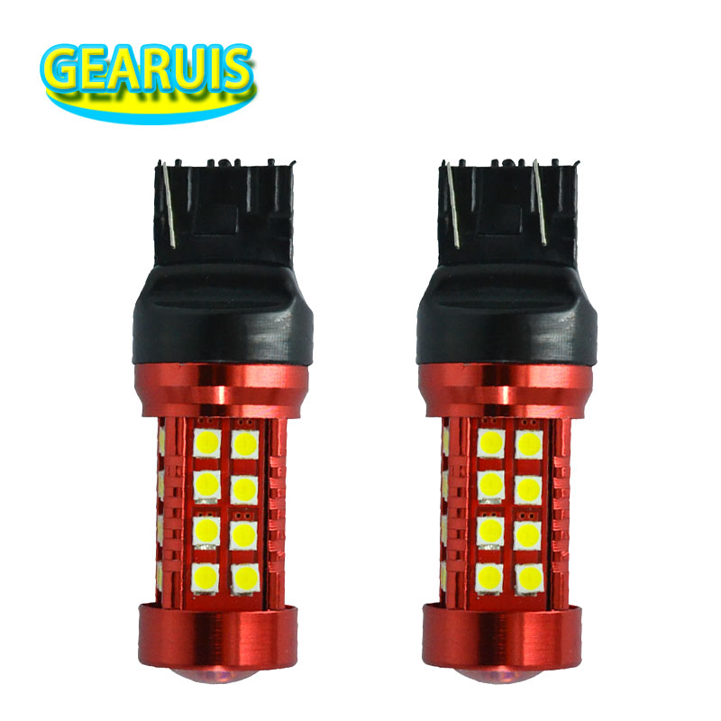 100pcs High power T20 7440 55W W21W 7443 W21/5W 36 SMD 3030 LED Car Styling Wedge Brake Stop Reverse Rear Turn Signal LED Bulb-in Signal Lamp from Automobiles & Motorcycles    1