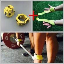 2 «Стандартный штангой тризм воротники тяжелая атлетика crossfit тренажерный зал легко блокировки воротник/зажим