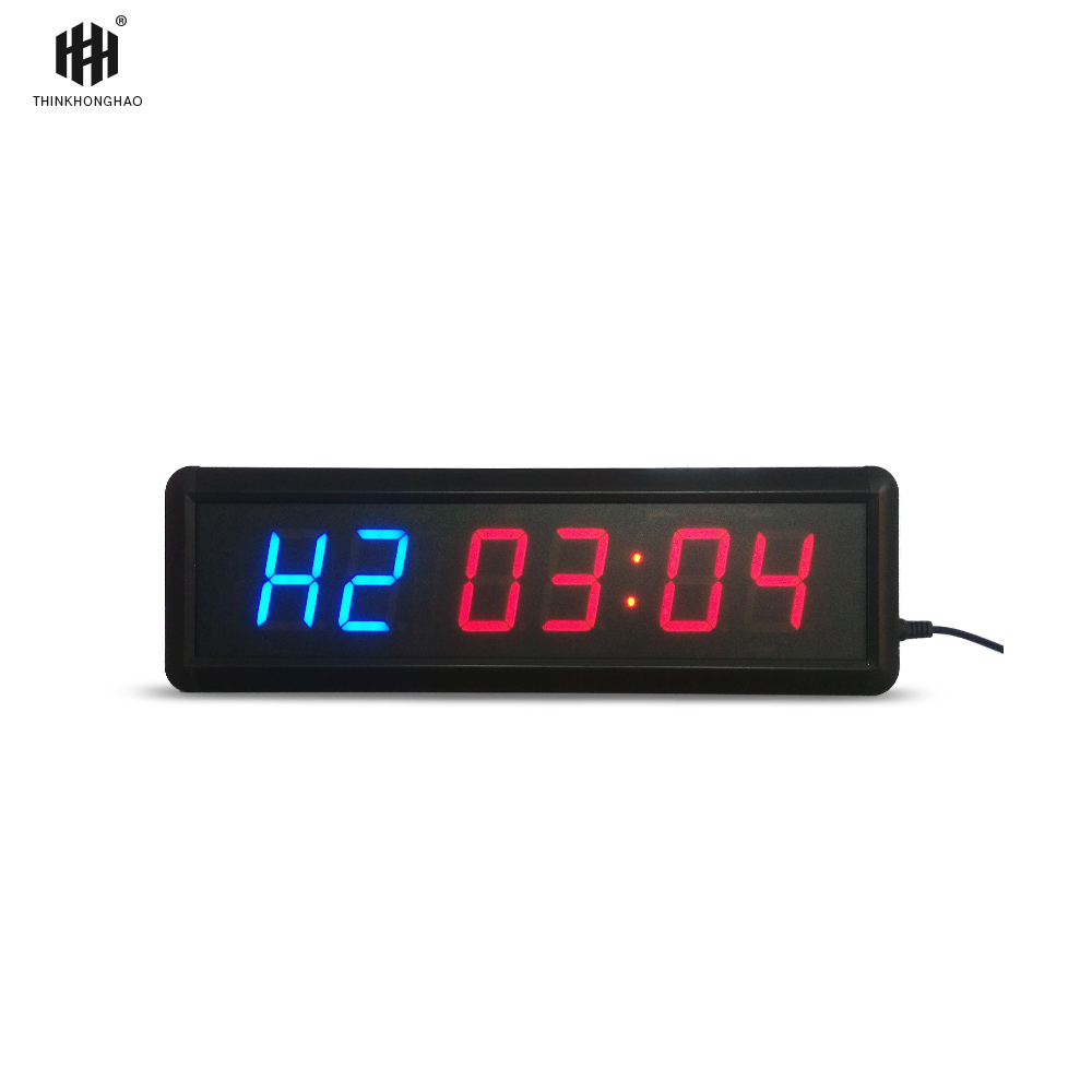 liela izmēra, funkcionāls, fitnesa taimera pulkstenis 1,8 collu - Mājas dekors - Foto 4