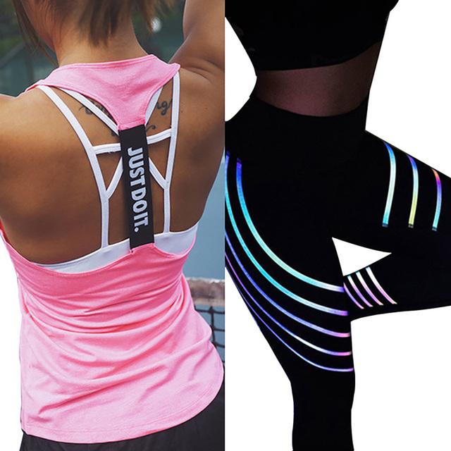 Fitness Tank Top and Leggings Set for Women