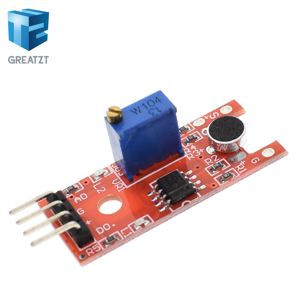 Buy Microphone Voice Sensor Arduino And Get Free Shipping On Electret Circuit As Well Sound