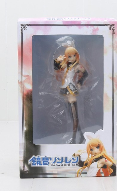 Hatsune Miku Anime Kagamine Rin Action Figure Character Vocal Adult Version PVC Hot Collectible Model Brinquedos 18cm Gift XYC