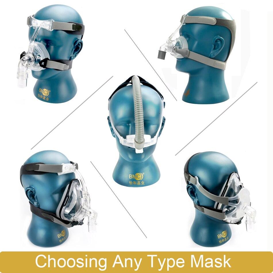 BMC GI CPAP 機ホット販売ホームセンター快適な人工呼吸器のためのシリコーンマスク睡眠いびき  グループ上の 美容 & 健康 からの 睡眠 & いびき の中 2