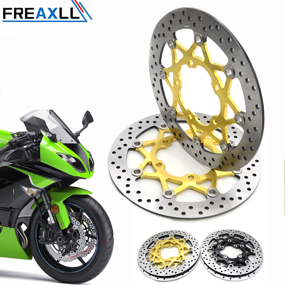 2PCS Front Floating Brake Disc Rotor Motorcycle Accessories Parts Brake Rotors For SUZUKI GSXR600 750 06 10 GSXR1000 K5 05 06