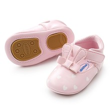 Newborn Princess Baby Girls Shoes Infant Toddler Moccasins Rabbit Ear Style Firs