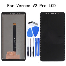5.99-inch Original display For VERNEE V2 PRO LCD display + touch screen digitizer assembly for V2PRO mobile screen repair kit new and original touch screen for ns5 mq00 v2