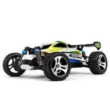 Actualiza WLtoys A959-B 1:18 Escala 2.4G 4WD 70 km/h Remoto Control de Vehículos Off-road Coche de Juguete 540 Cepillado Motor de Alta Velocidad DEL RC coche
